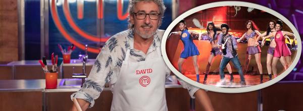 David Fernández y otras celebrities que han pasado por MasterChef y Eurovisión