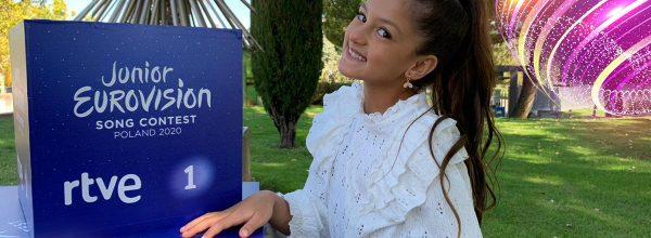 Escucha un minuto de 'Palante', el tema de España para Eurovisión Junior 2020